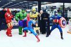 Scottish Car Show Superheroes