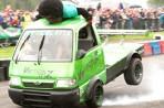 Vertical Trix Stunt Display