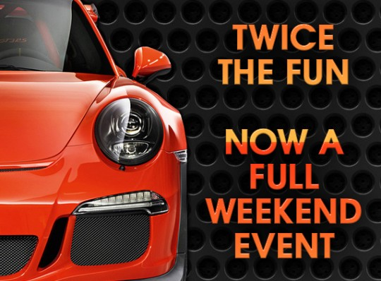 Twice The Fun For 2017! Now A Full Weekend Show