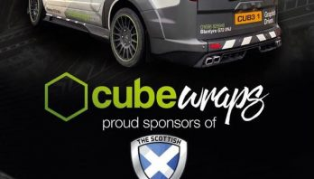 Cube Wraps Sponsor Live Action Arena